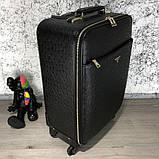 Prada Rolling Luggage Ostrich 55 Black, фото 3