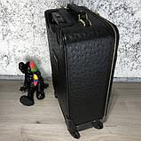 Prada Rolling Luggage Ostrich 55 Black, фото 4