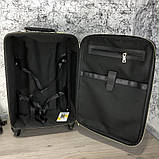 Prada Rolling Luggage Ostrich 55 Black, фото 8