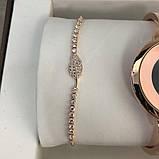 Подарочный Набор Gucci Bracelet/Watch/Bracelet with Diamond Gold, фото 7