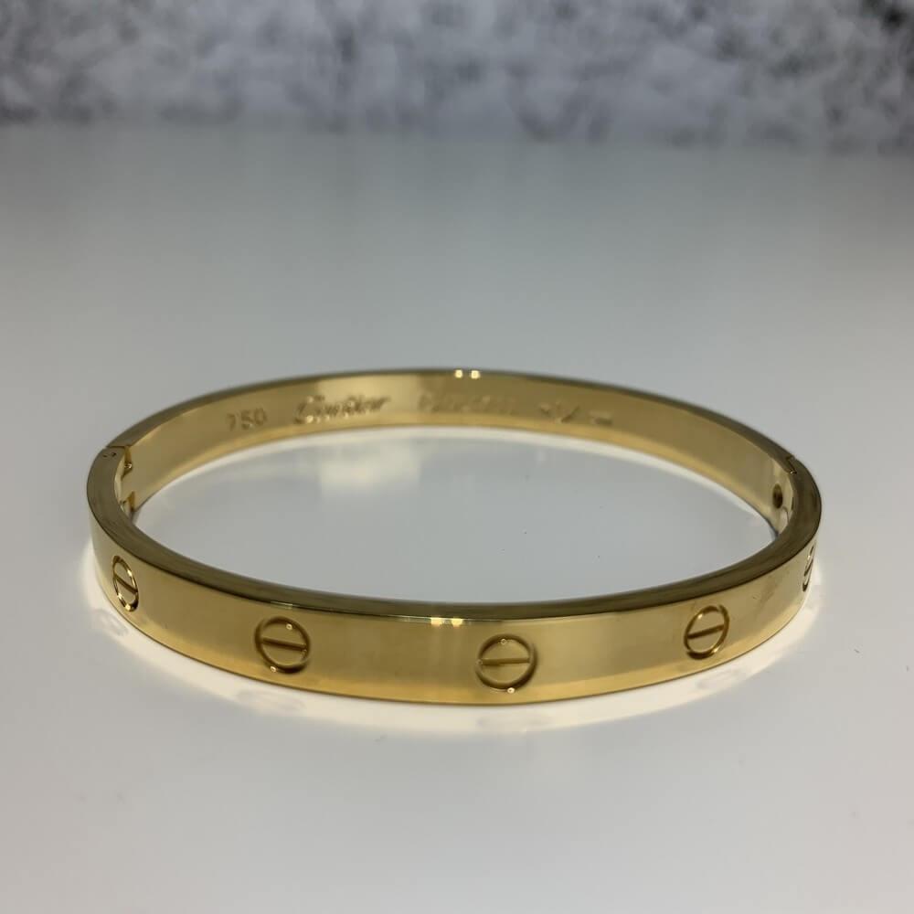 Cartier Love Bracelet 16 Yellow Gold