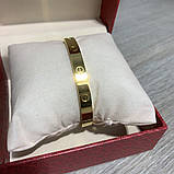 Cartier Love Bracelet 16 Yellow Gold, фото 9