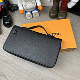 Бумажник Louis Vuitton Zippy XL Taiga, фото 5