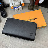 Бумажник Louis Vuitton Zippy XL Taiga, фото 7