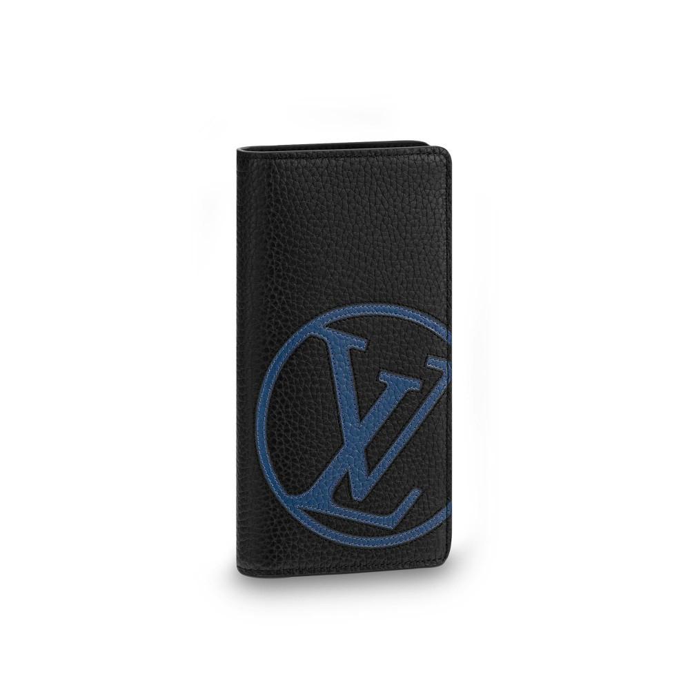 Бумажник Louis Vuitton Brazza Initiales Taurillon