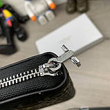 Бумажник Salvatore Ferragamo Gancini Zip Around Black, фото 4