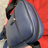 Мужская барсетка Puma Ferrari синяя (Пума Ферари) сумка через плече, фото 2