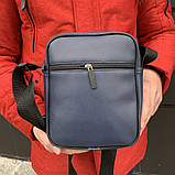 Мужская барсетка Puma Ferrari синяя (Пума Ферари) сумка через плече, фото 3