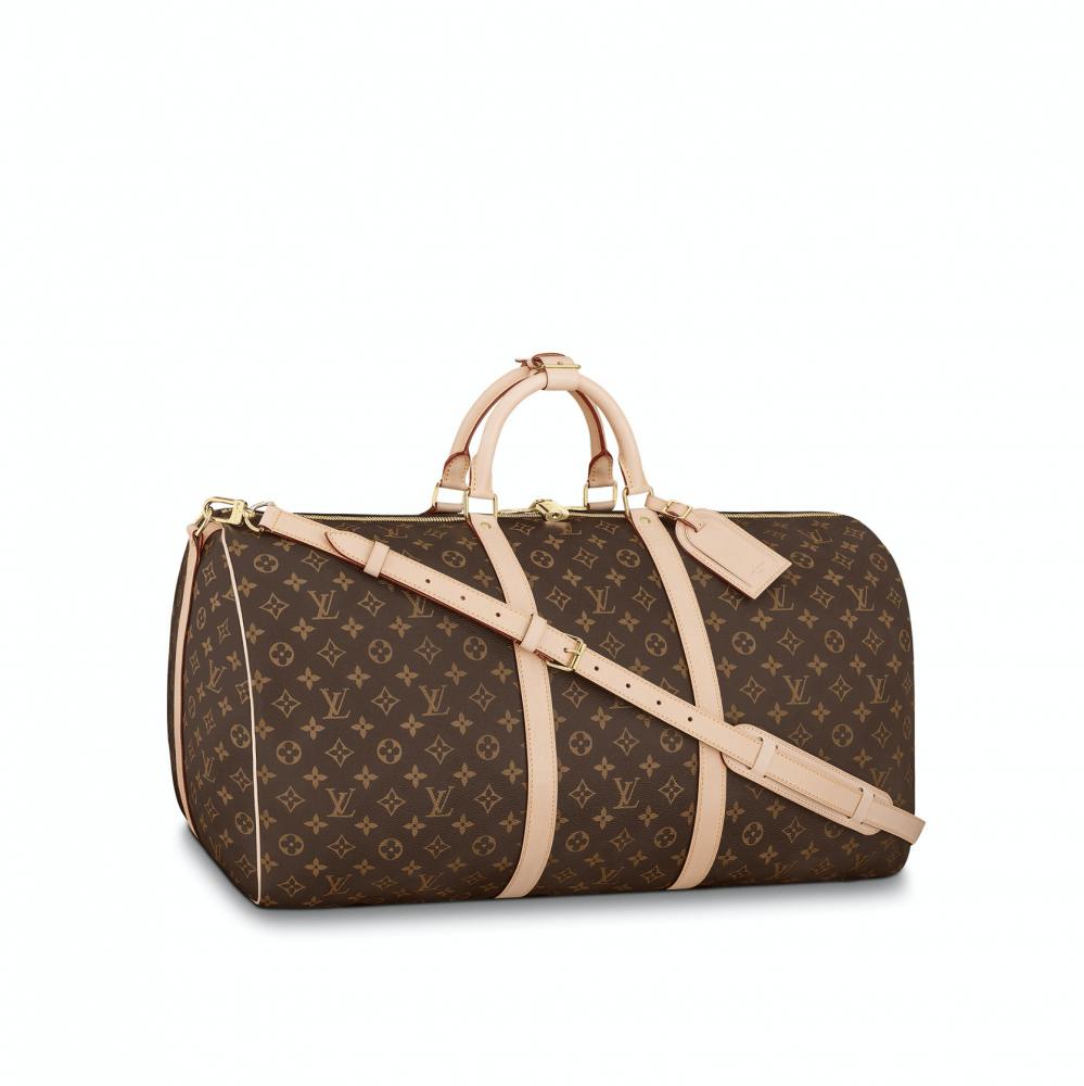 Softsided Luggage Louis Vuitton Keepall 60 Monogram1