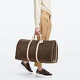 Softsided Luggage Louis Vuitton Keepall 60 Monogram1, фото 2