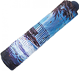 Женский зонт ZEST полный автомат расцветка Первый поцелуй синий, фото 2