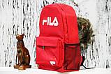 Рюкзак Fila red, фото 2