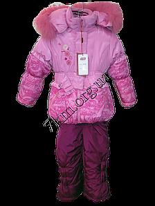 Комбенизон детский для девочки Зимний  86-1102015 модель VF 66