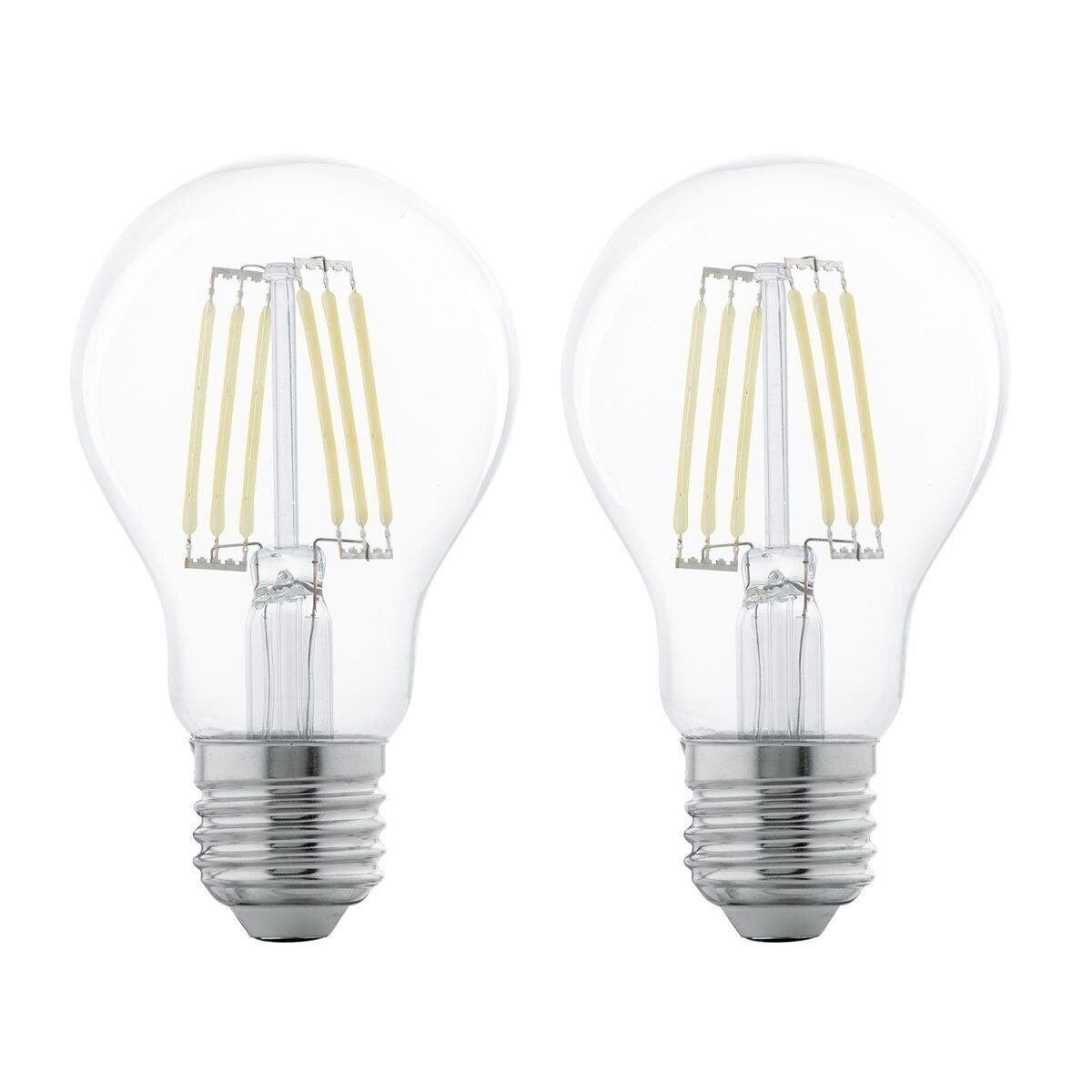 Светодиодная лампа LM-E27-LED A60 6W 2700K 2 STK, Eglo [11509]