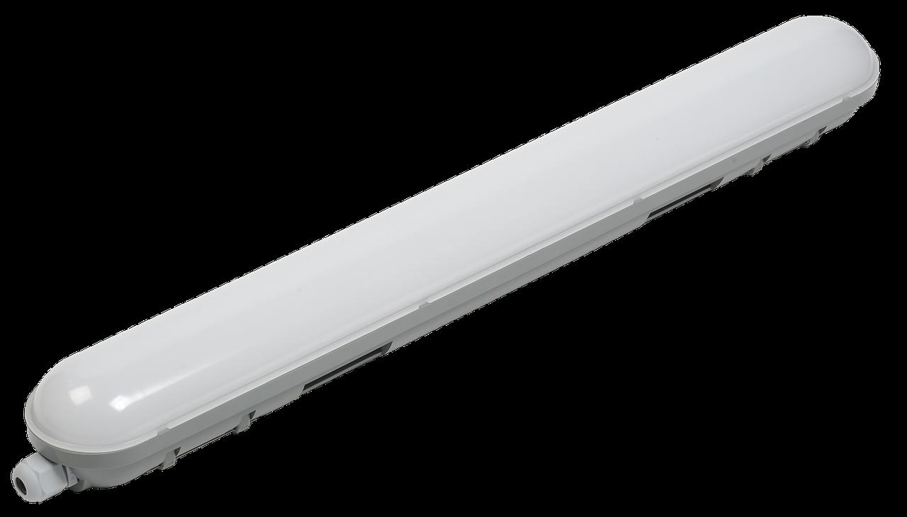 Светильник светодиодный ДСП 1305 18Вт 6500К IP65 600мм серый пластик IEK