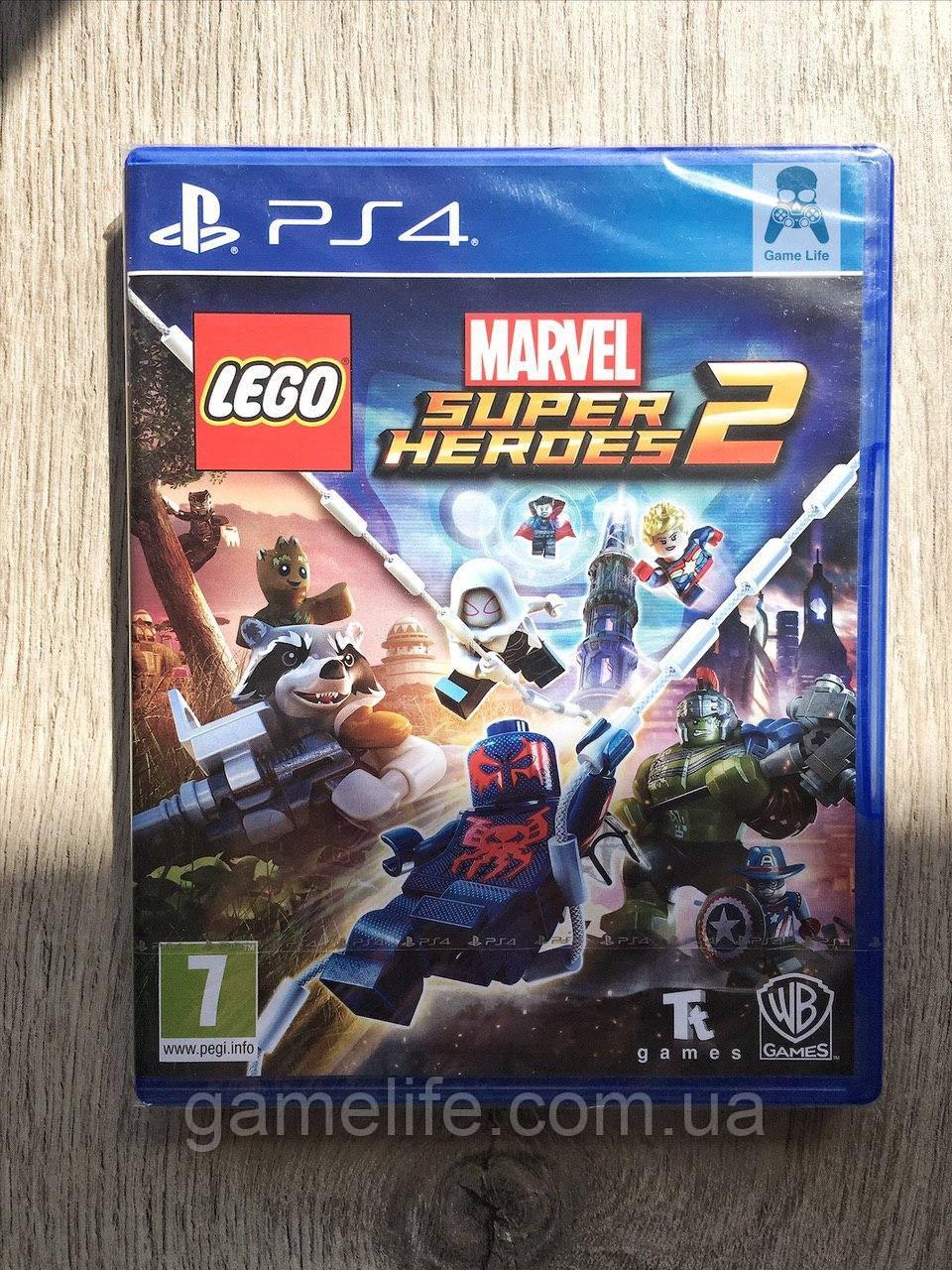 LEGO Marvel Super Heroes 2 (рус. суб.) PS4