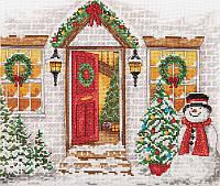 """Набір для вишивання """"Різдвяний прийом (Christmas Welcome)"""" ANCHOR MAIA"""
