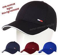 Мужская (женская) модная и молодежная спортивная кепка бейсболка блайзер Tommy Hilfiger