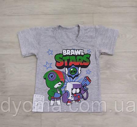 "Детская футболка "" Brawl - stars "" для мальчиков, фото 2"