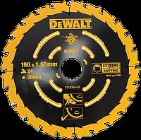 190X30,24 WZ 18 Пильный диск DeWalt [ST0TCTCPDDT1030400]