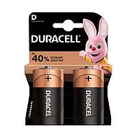 Батарейки Duracell Basic D (LR20) Alkaline (2шт.)