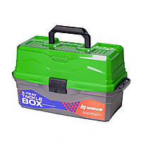 Tackle Box NISUS зелений 3 полиці