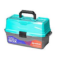 Tackle Box NISUS бірюзовий 3 полиці