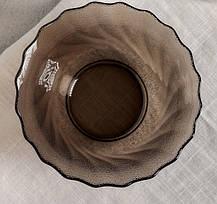 Большой круглый стеклянный салатник коричневый  Luminarc Ocean Eclipse 240 мм  (L5081), фото 3