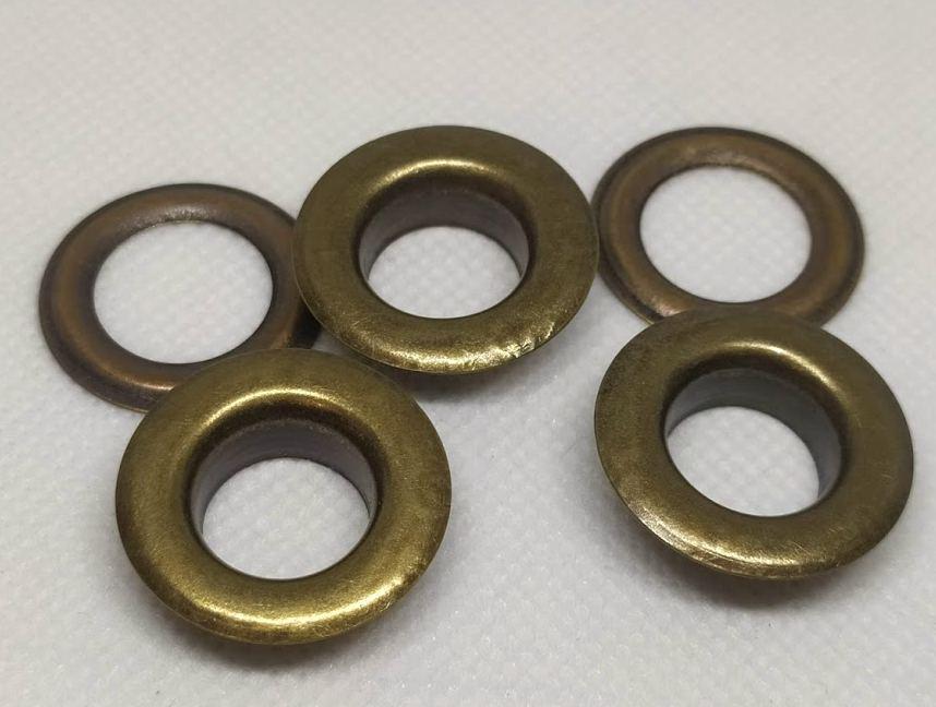 Люверсы 17 мм Антик ( в упаковке 1000 штук )