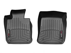 Ковры резиновые WeatherTech BMW X1 2009-2014 передние черные Rear Wheel Drive (sDrive) 2х4