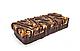 Протеиновые батончики FitLife Crunchy Bar Chocolate Brownie 12х50g, фото 3
