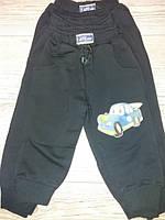 Спортивні штани для хлоп темно сині з машинкою 86,92,98,104