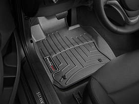 Ковры резиновые WeatherTech BMW X1 2009-2014 передние черные All Wheel Drive (xDrive)  4х4