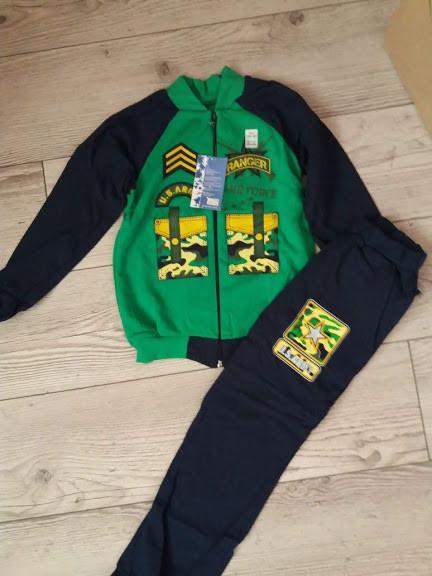 Спортивний костюм для хлопчика Армі 7 зелений98-104см