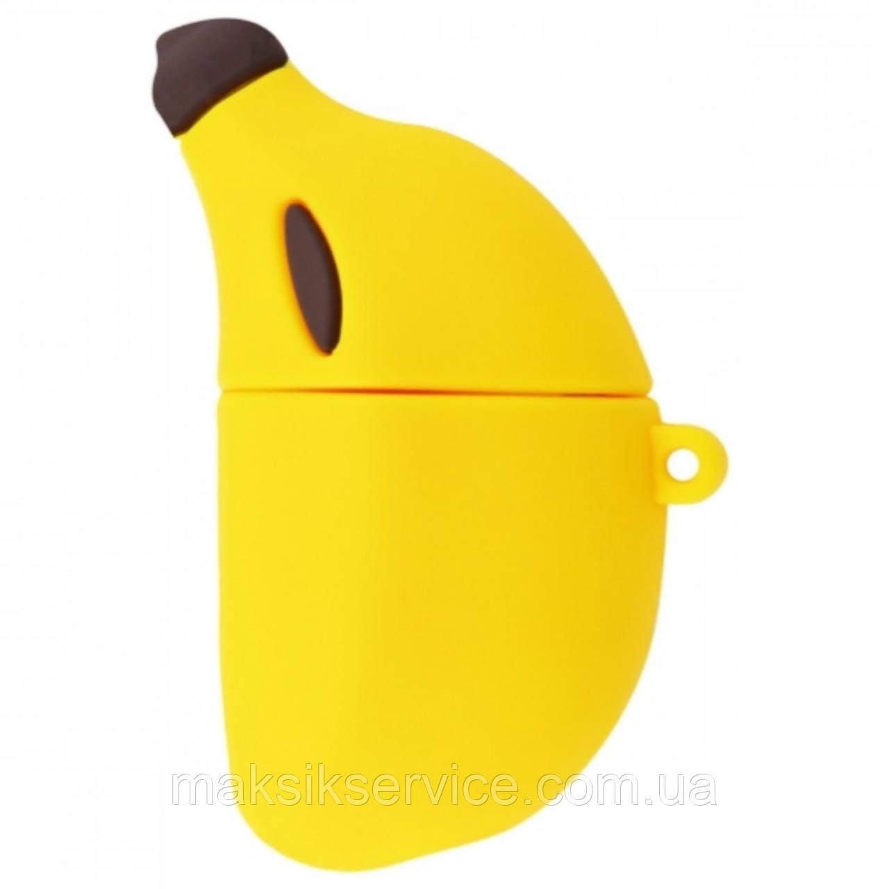 Чехол для AirPods 1/2 Banana