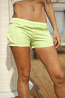 Шорты пляжные короткие на резинке с боковыми карманами.Ткань-плащевка, 6цветов, Р-р.40,42,44,46 Код 02В