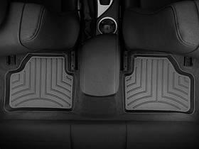 Ковры резиновые WeatherTech BMW X1 2009-2014 задние черные