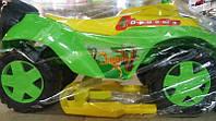Детская машинка каталка Орион 198, зеленая