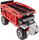Хот Вилс Монстро-транспортер на 12 машинок Монстр Трак автовоз перевозчик Hot Wheels Monster Truck, фото 2