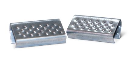 Скоба для пакувальної стрічки металева 16 мм / 2500 шт