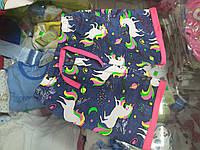 Летние детские шорты для девочки р. 92 - 152