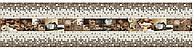 Панно з панелей Регул ПВХ Кофе 0,6мм 922х645мм комплект 3шт, фото 1