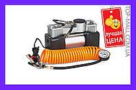 Миникомпрессор автомобильный eXpert - 12В x 12 bar x 60 л/мин, двухпоршневой (АРТИКУЛ E-81-118)