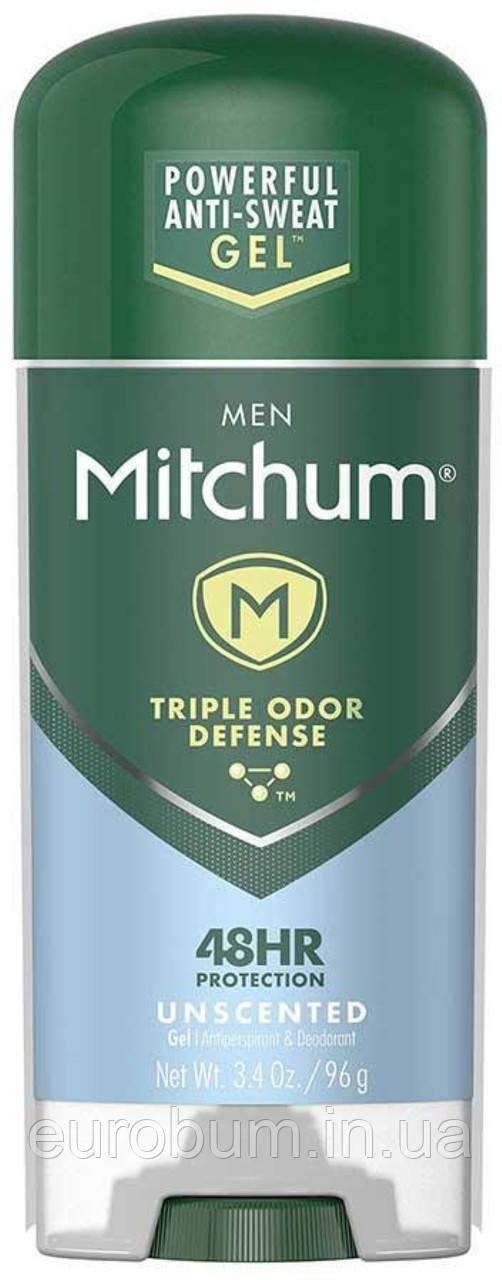 Дезодорант антиперспірант Mitchum Без запаху гель чоловічий 96 р (США)