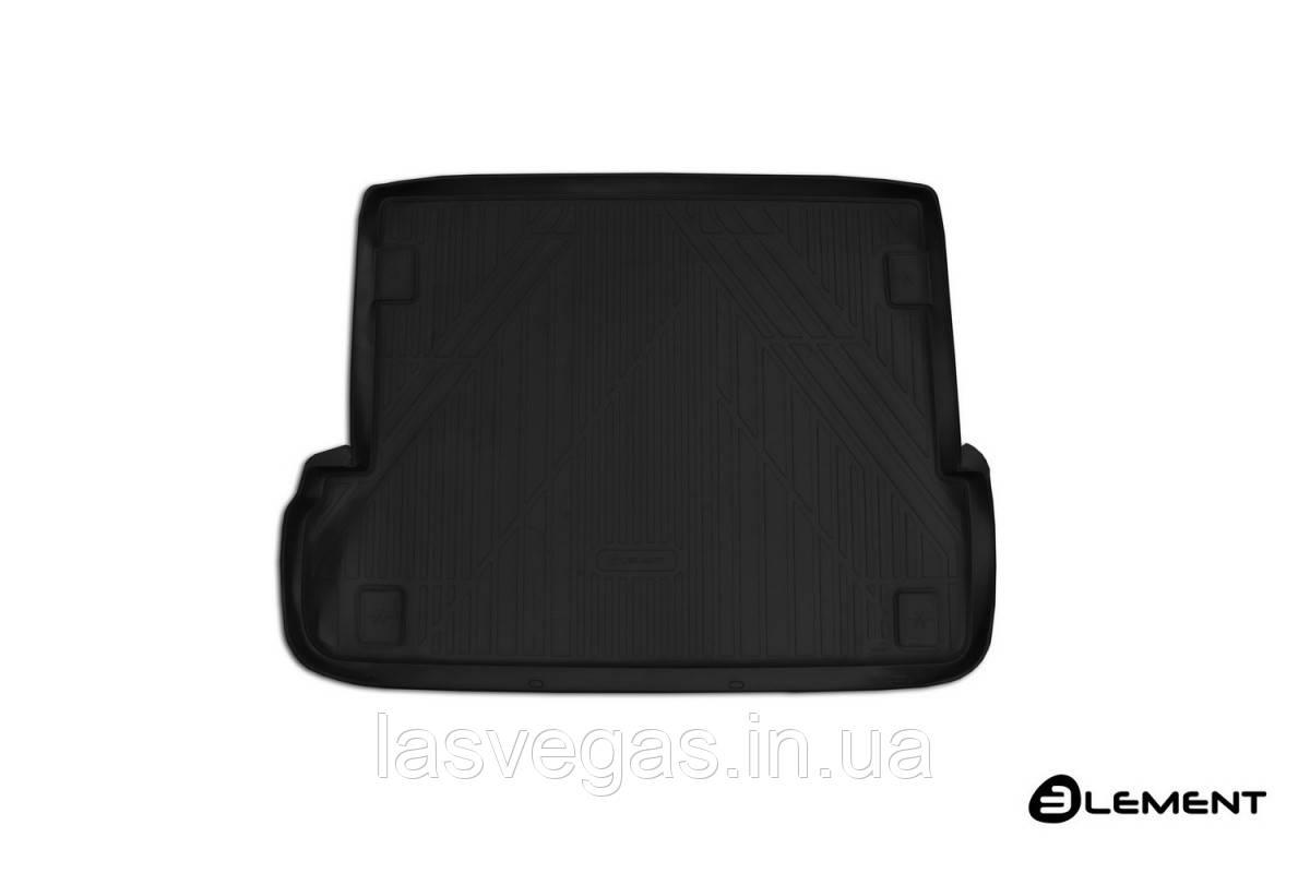 Коврик в багажник  LEXUS GX 460 2013- кросс. 7 мест длин. (полиуретан)