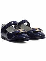 Туфли для девочки Apawwa 18/6 sale синие р.35-21,8 см