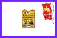 """Набор инструмента Сила - 108 ед. x 1/4"""", 1/2"""", желтый,251308, Набор инструмента Сила - 108 ед. x 1/4"""", 1/2"""", желтый, набор инструментов, инструменты,"""