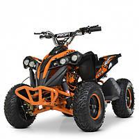 Квадроцикл HB-EATV1000Q-7ST V2 для детей от 6 лет, подростков и взрослых до 65 кг оранжевый