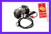 Миникомпрессор автомобильный Miol - двухпоршневой 12 В, 10 bar, 60 л/мин (АРТИКУЛ 81-118)
