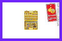 """Набор инструмента Сила - 94 ед. x 1/4"""", 1/2"""", желтый,251394, Набор инструмента Сила - 94 ед. x 1/4"""", 1/2"""", желтый, набор инструментов, инструменты,"""